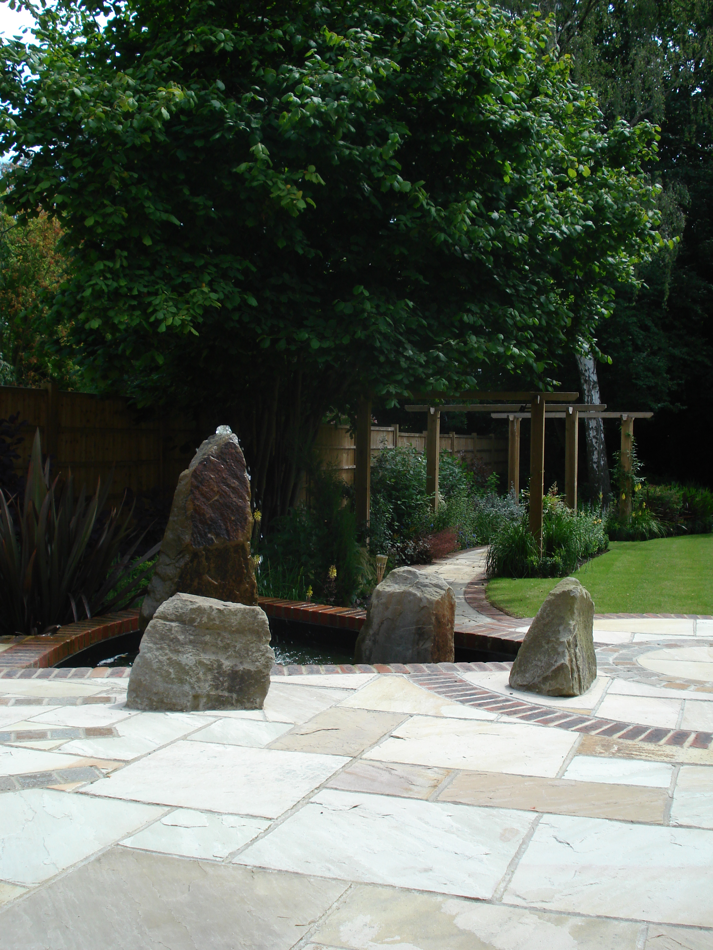 Rear Garden - Details are important no matter what size the garden