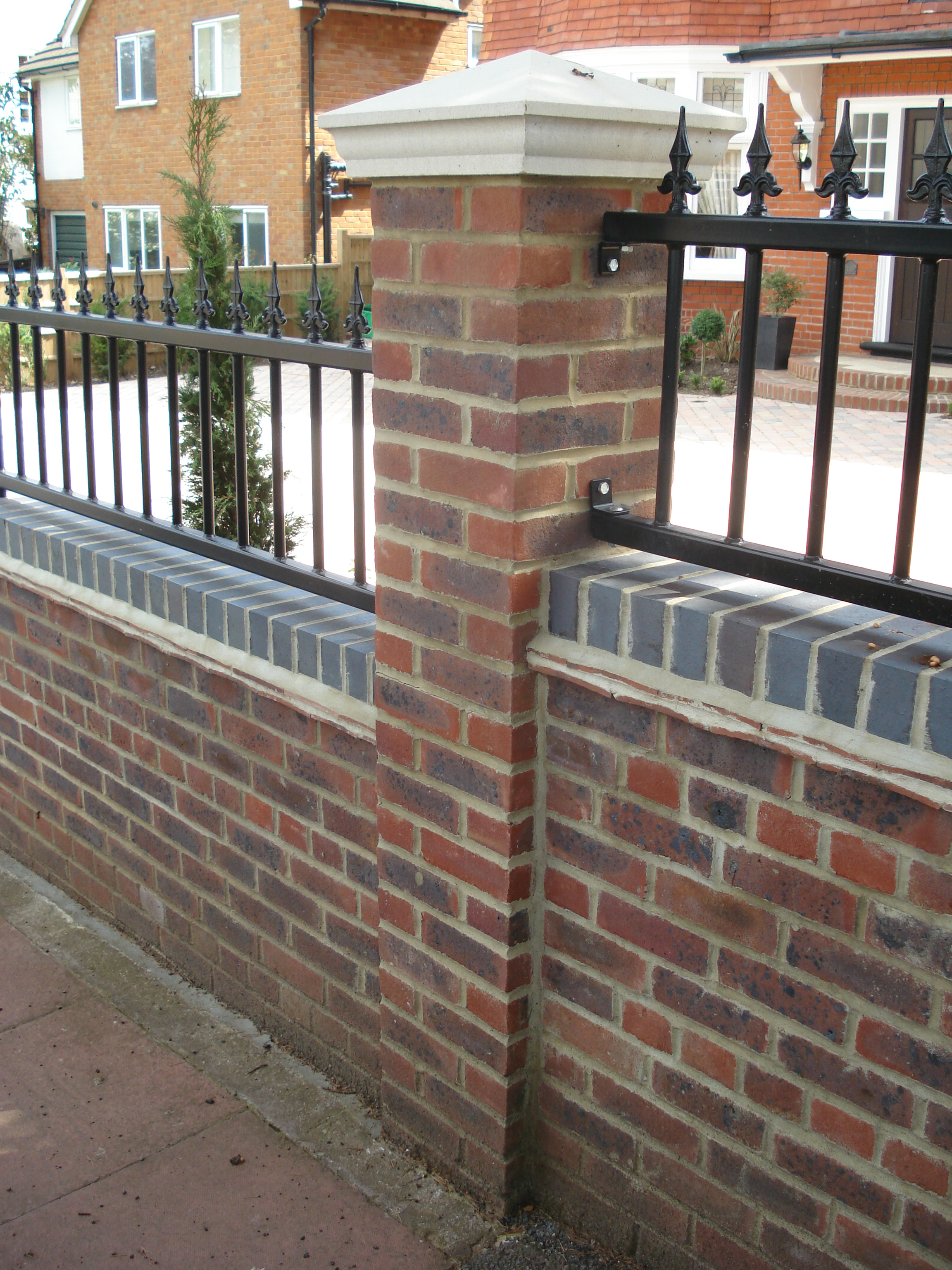 Front Garden - High quality brickwork to the front of the property