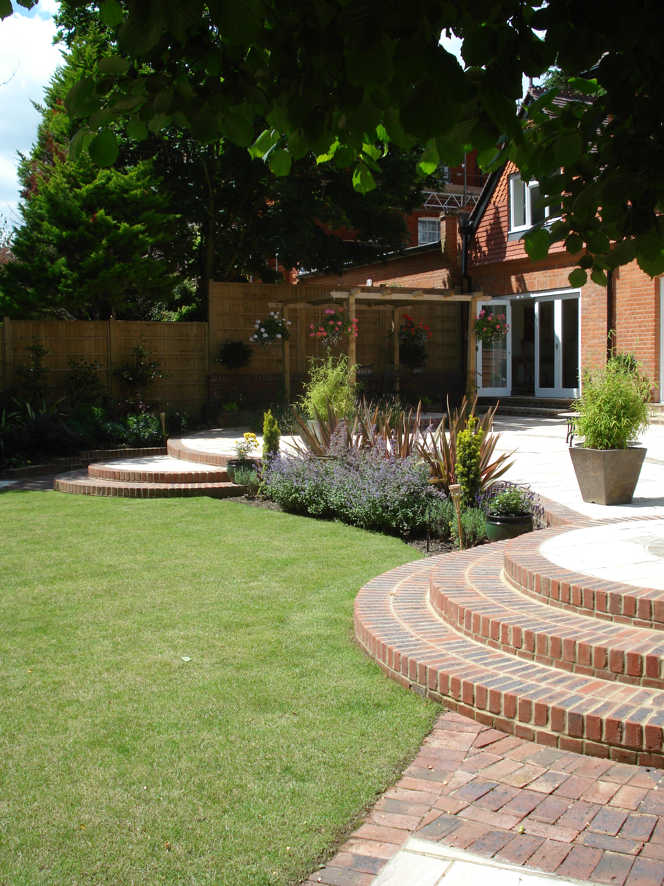Rear Garden - The rear aspect of the house